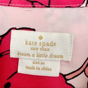 kate spade Intimates & Sleepwear - Kate spade button up poppy flower PJ top XS